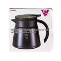 Hario Insulated Server V60-02 Czarny 600 ml