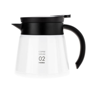 Hario Insulated Server V60-02 Biały 600 ml