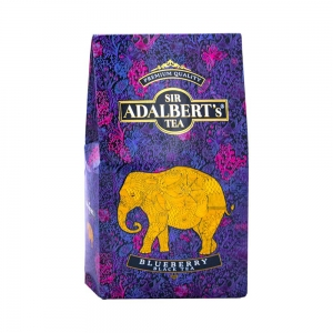 Sir Adalbert's Blueberry Black Tea 100 g