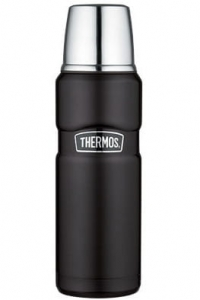 Thermos King termos 470 ml czarny mat