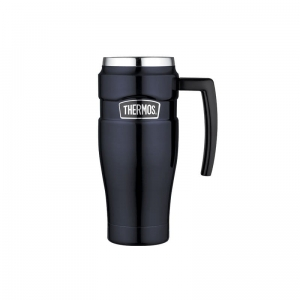 Kubek termiczny Thermos Travel King 470 ml ciemnoniebieski