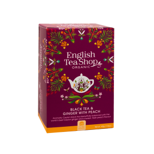 ETS Ginger Peach Tea 20 saszetek