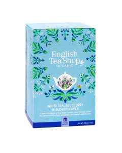 ETS White Tea Blueberry & Elderflower 20 saszetek