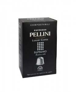 Pellini Supremo Luxury Coffee Nespresso 30 kapsułek