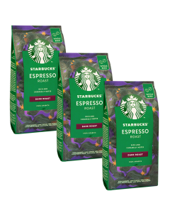 Starbucks Espresso Dark Roast 3 x 200g