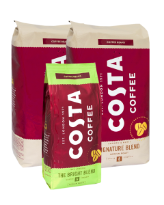 2 x Costa Coffee Signature Medium 1 kg + GRATIS