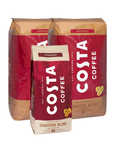 2 x Costa Coffee Signature Dark 1 kg + GRATIS