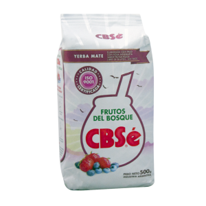 Yerba Mate CBSe Frutos del Bosque 500 g.