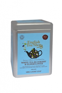 ETS White Tea Blueberry & Elderflower 100 g Puszka