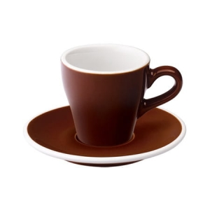 Loveramics Tulip filiżanka Espresso 80 ml Brown
