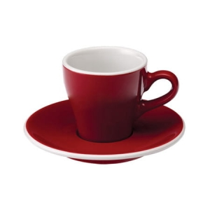 Loveramics Tulip filiżanka Espresso 80 ml Red