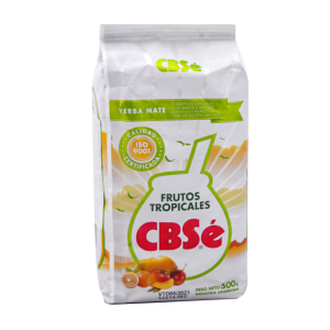 Yerba Mate CBSe Frutos Tropicales 500 g.